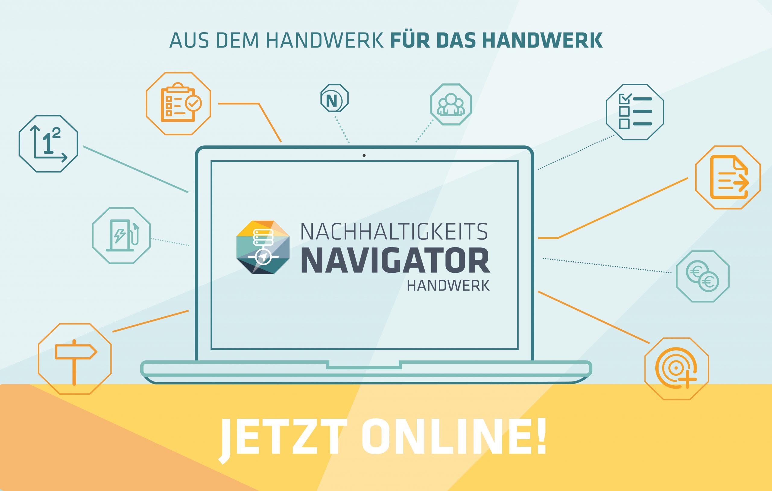 Nachhaltigkeits-Navigator Handwerk online