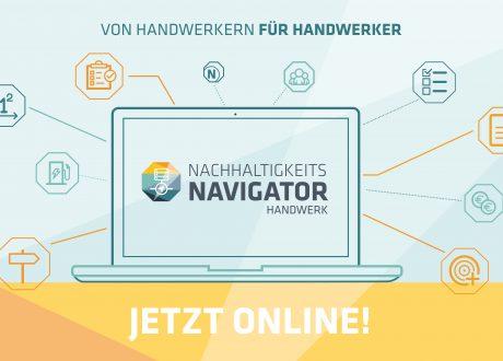 Nachhaltigkeits-Navigator Handwerk ist online